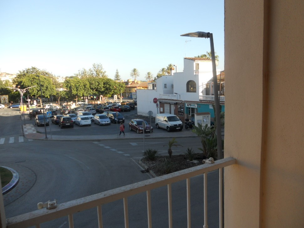 Vistas a la plaza