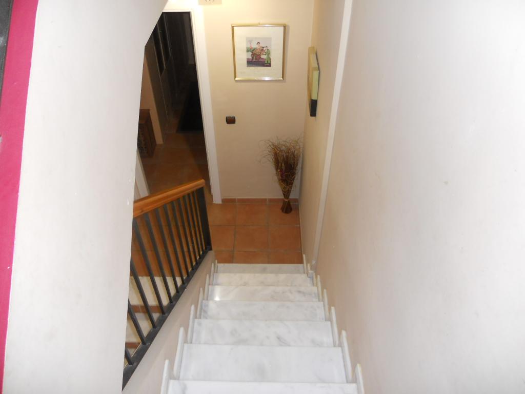 Escaleras acceso a dormitorios