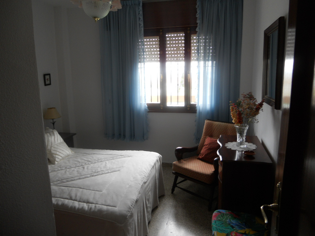Dormitorio principal orientado al sur