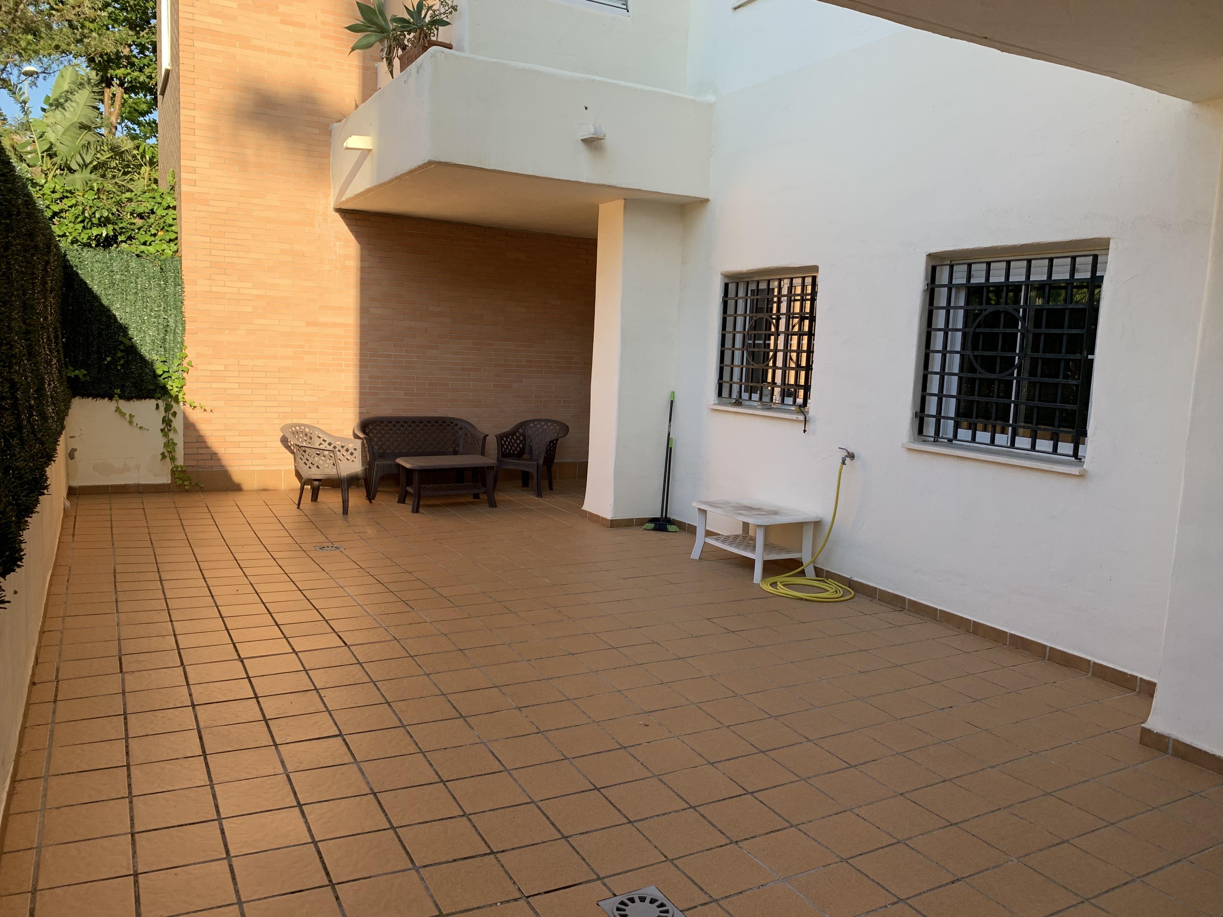 Terraza-Patio de 55m2